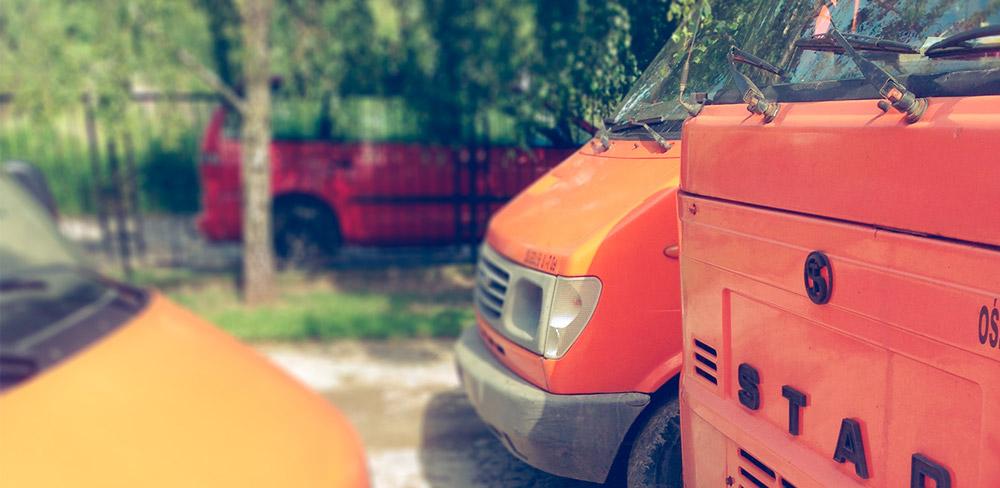 Małe pojazdy typowo na wąskie uliczki naszego miasta – SUK-POL.pl | ŚMIECI | GRUZ | ODPADY | KONTENERY | LUBLIN