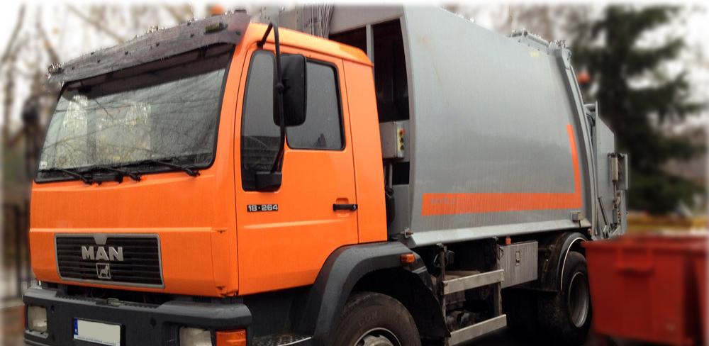 Pojazd specjalny do zbierania odpadów zmieszanych lub frakcji suchej SUK-POL.pl | ŚMIECI | GRUZ | ODPADY | KONTENERY | LUBLIN